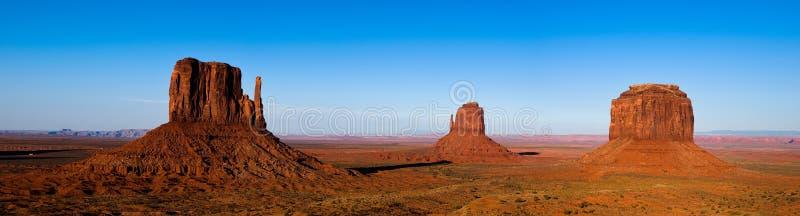 Monument valley panorama stock photos