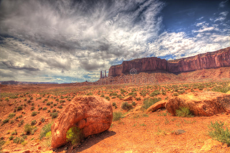 Monument Valley Trail stock photos