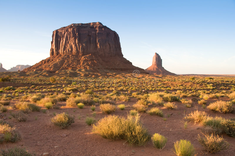 Monument Valley Tribal Park. In Southwest US stock photos