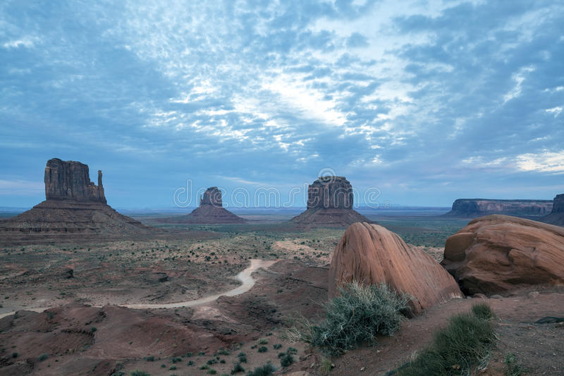 Download Monument Valley Utah stock photo. Image of tribal, buttes - 27104582