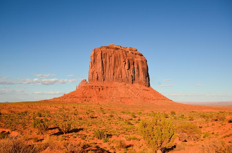 Monument Valley Utah stock photo