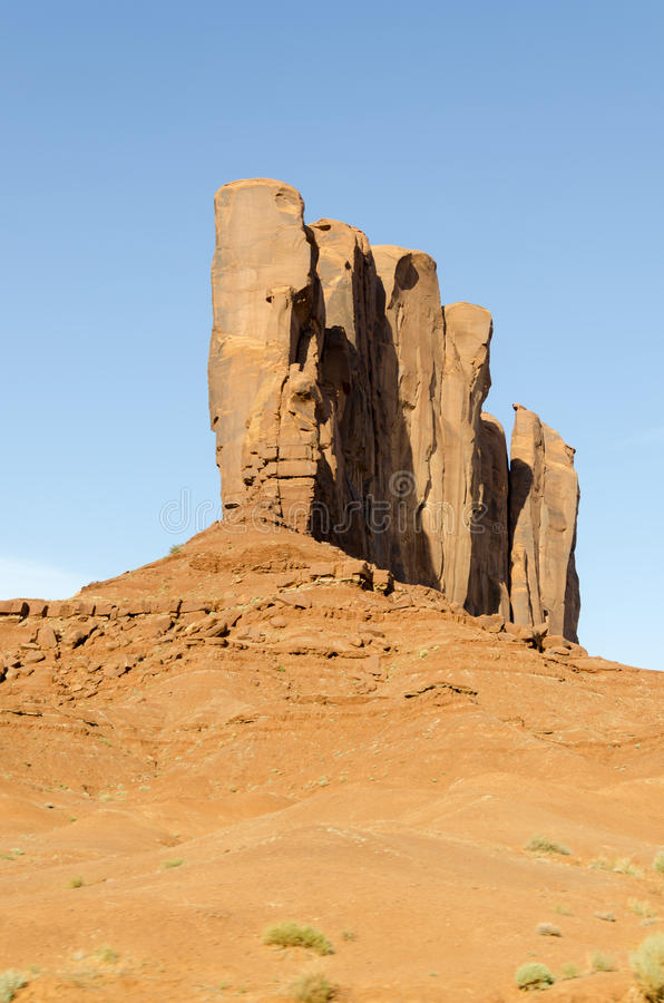 Monument Valley in Utah stock photo