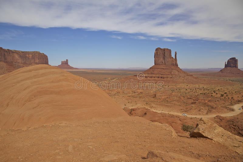 Monument Valley Vista Royalty Free Stock Image