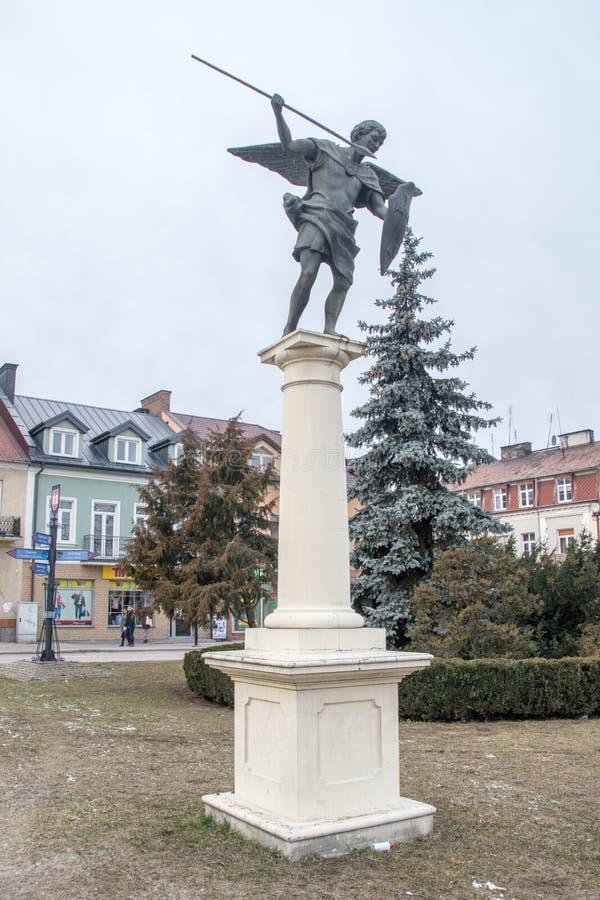 Monument van Aartsengel Michael royalty-vrije stock foto's