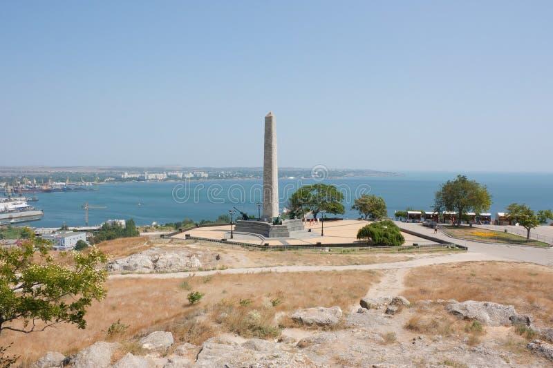 Monument van glorie op onderstel Mithridates stock foto