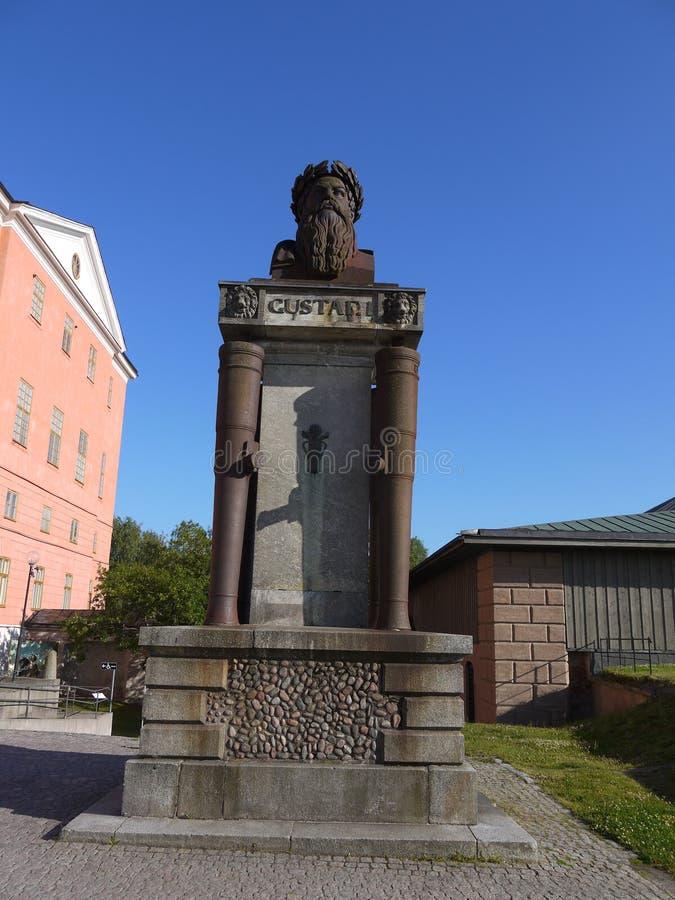 Monument van Gustaf Vasa royalty-vrije stock foto's