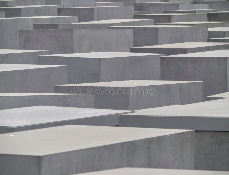 Monument van Joden moord in Europa tijdens de tweede wereldoorlog, slachtoffers van Holocaust Berlijn duitsland Juni 2015 stock foto's