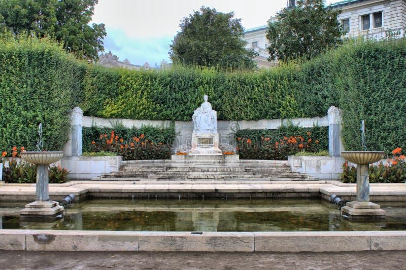 Monument van Keizerin Elizabeth in Wenen royalty-vrije stock afbeelding