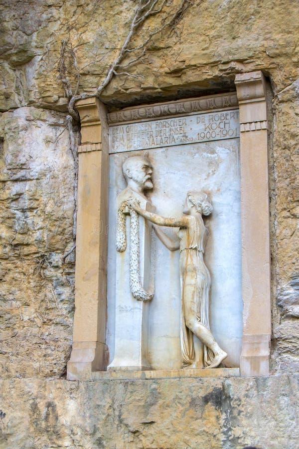 Monument van Robert Koch royalty-vrije stock foto