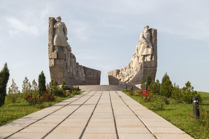 Monument van Wereldoorlog II royalty-vrije stock fotografie