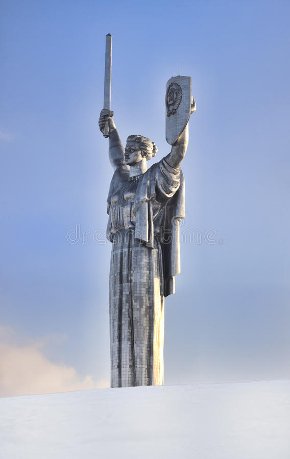 Monument Of Victory In Kiev Stock Images
