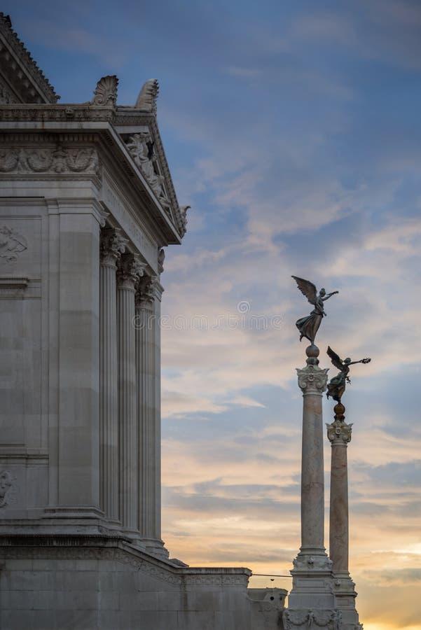 Monument Vittorio Emmanuel II royalty free stock photo