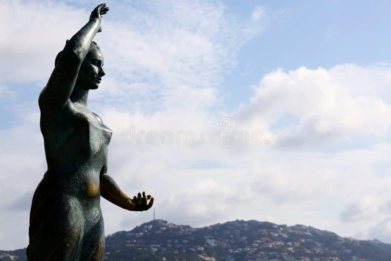 Monument von Dona Marinera stockbilder