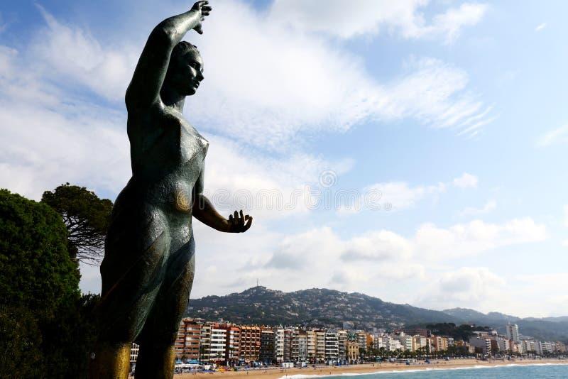 Monument von Dona Marinera lizenzfreie stockfotografie