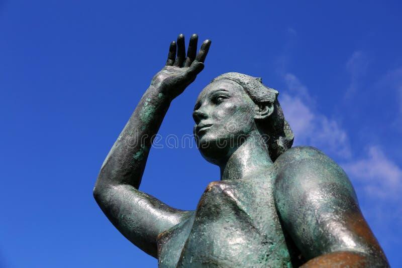 Monument von Dona Marinera stockfotografie