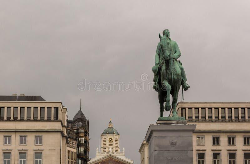 Monument von König Albert lizenzfreies stockbild