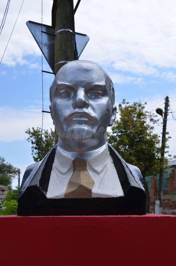 Monument voor V I Lenin royalty-vrije stock foto