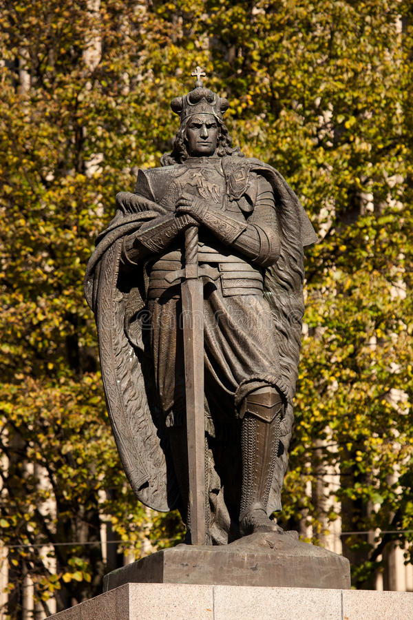 Monument Of Vytautas The Great Editorial Photo
