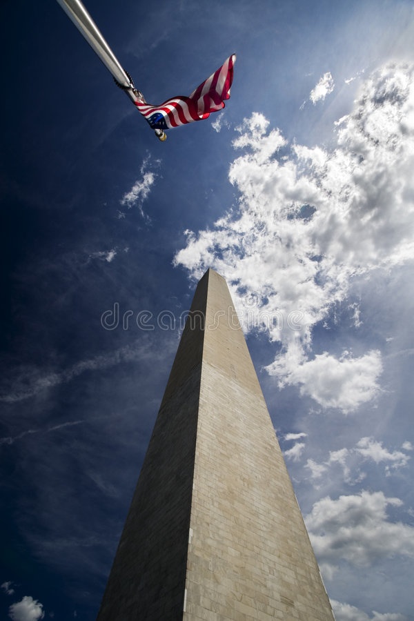 monument washington arkivfoto