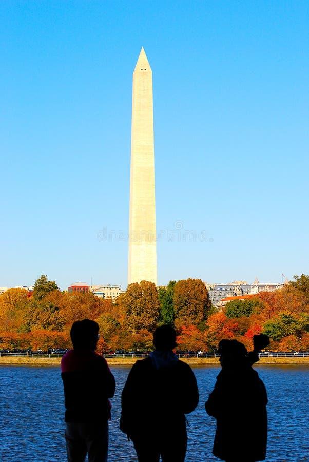 Monument of Washington DC. Monument and Symbol of Washington DC royalty free stock photography