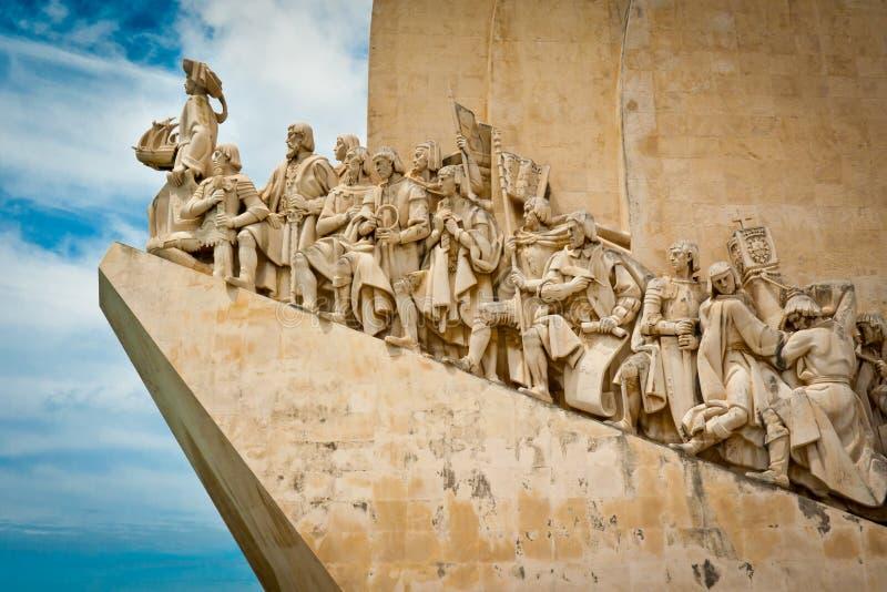 Monument zu den Entdeckungen lizenzfreie stockfotografie