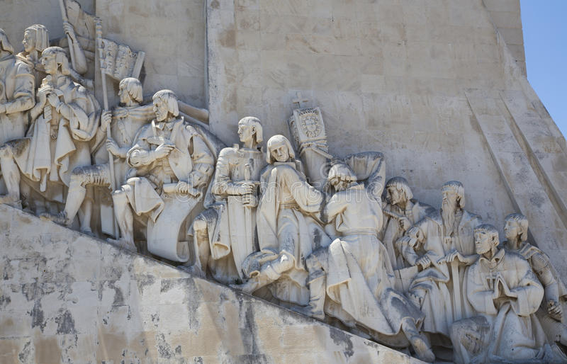 Monument zu den Entdeckungen, Lissabon, Portugal, stockbild