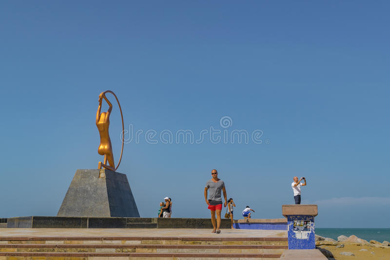 Monument zu den Frauen Fortaleza Brasilien stockfoto