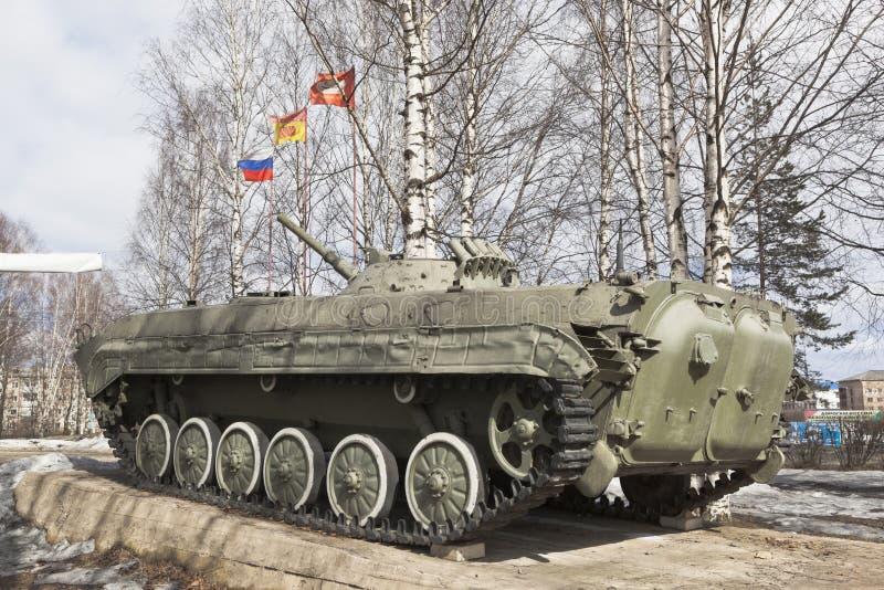 Monument zu den Soldatinternationalisten in der Stadt von Velsk, Arche lizenzfreie stockfotos