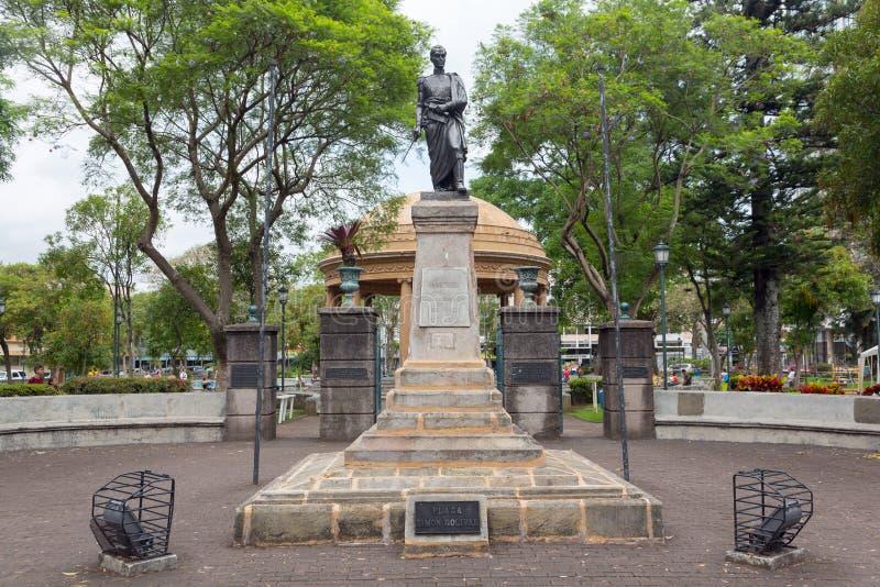 Monument zu Simon Bolivar in San Jose, Costa Rica stockbild