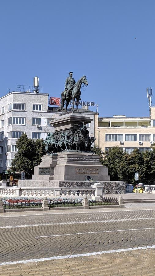 Monument zum Zar-Befreier lizenzfreies stockbild