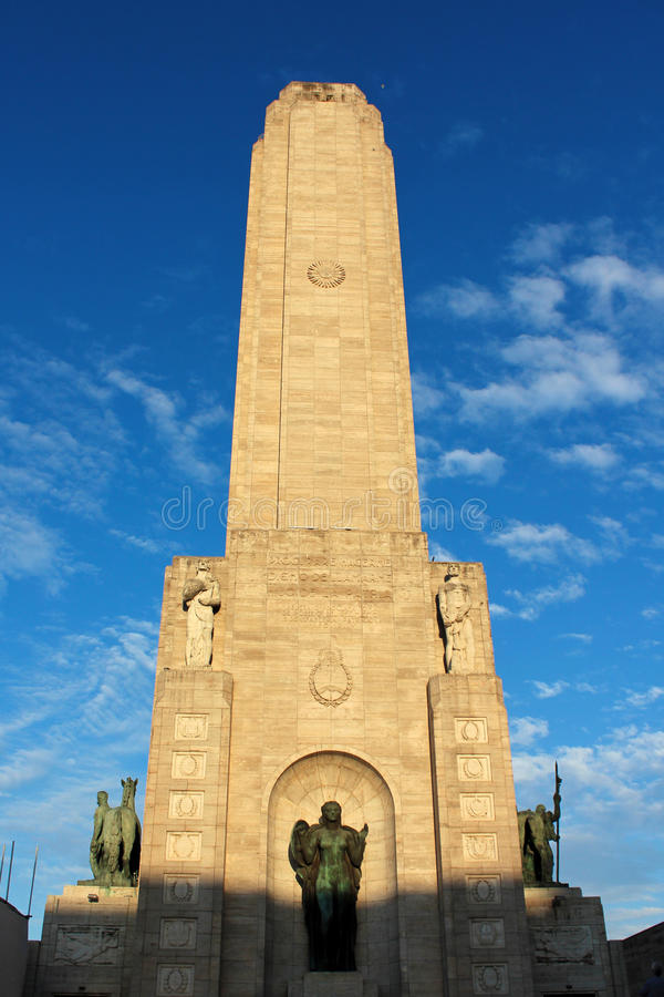 Monument zur Flagge, Rosario, Argentinien stockbilder