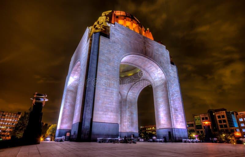 Monument zur mexikanischen Revolution stockbilder
