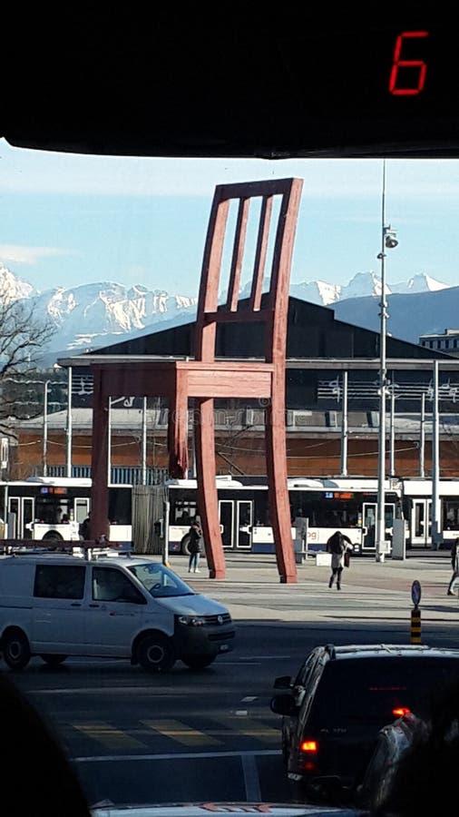 Monument in Zwitserland royalty-vrije stock afbeeldingen
