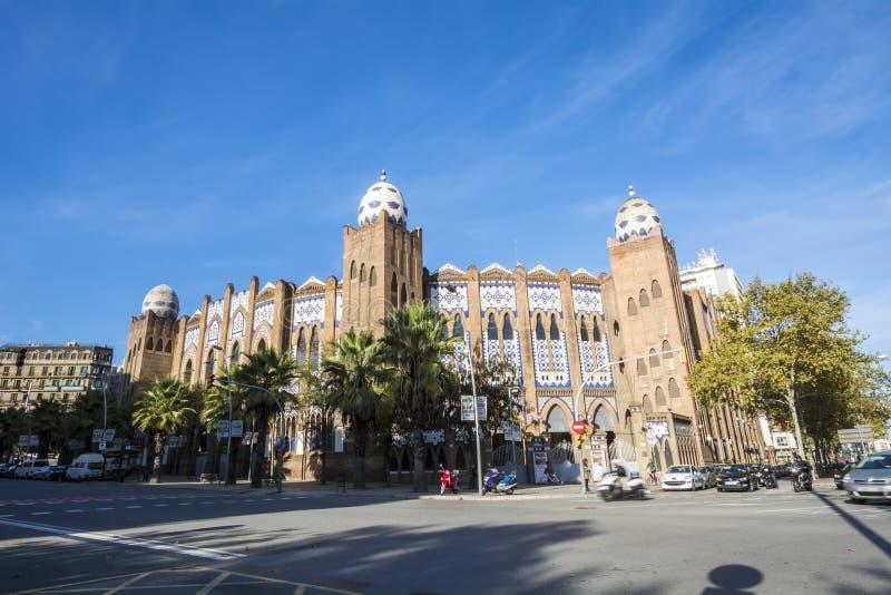 Monumentaal arenala, Barcelona, Spanje royalty-vrije stock afbeelding