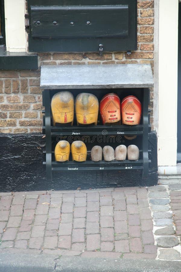 Monumentaal Nederlands huis stock foto