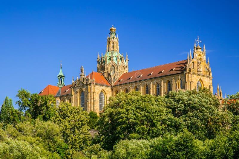 Monumental monastery of Benedictines in Kladruby royalty free stock image