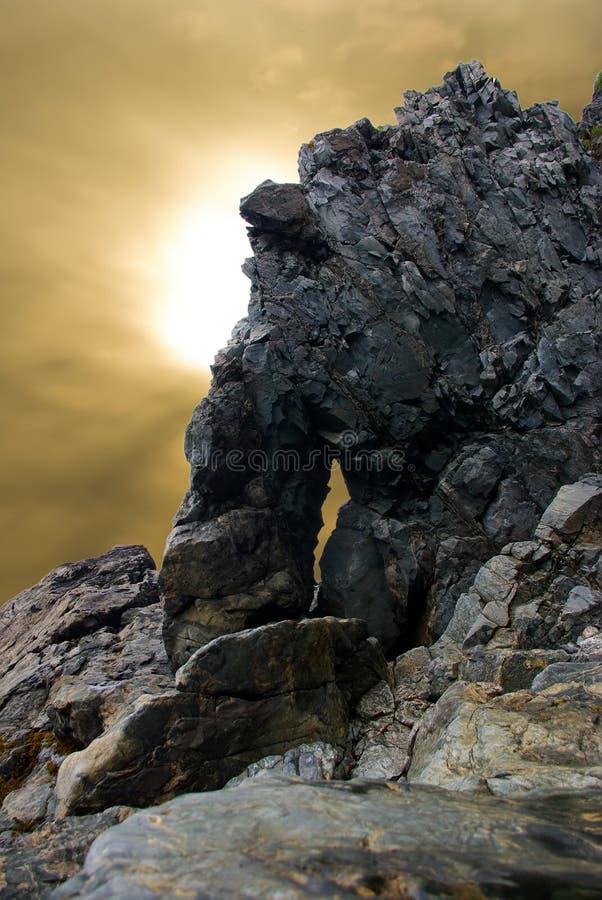 Monumental rock stock photography