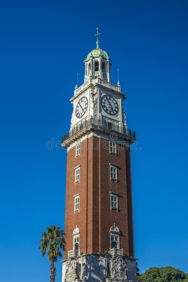 Monumental Tower in Buenos Aires, Argentina royalty free stock photography
