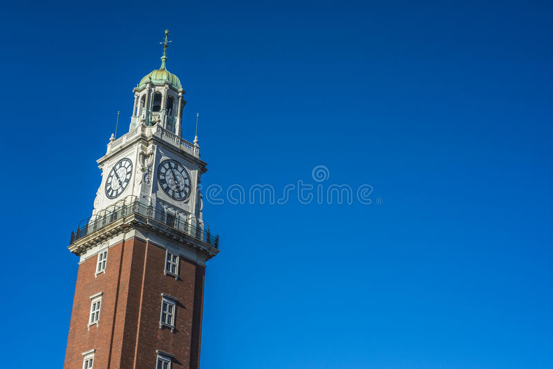 Monumental Tower in Buenos Aires, Argentina royalty free stock photo