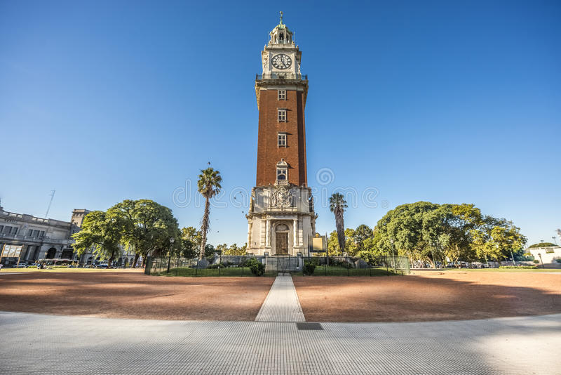 Monumental Tower in Buenos Aires, Argentina. Monumental Tower located on Retiro neighborhood in Buenos Aires, Argentina royalty free stock photo