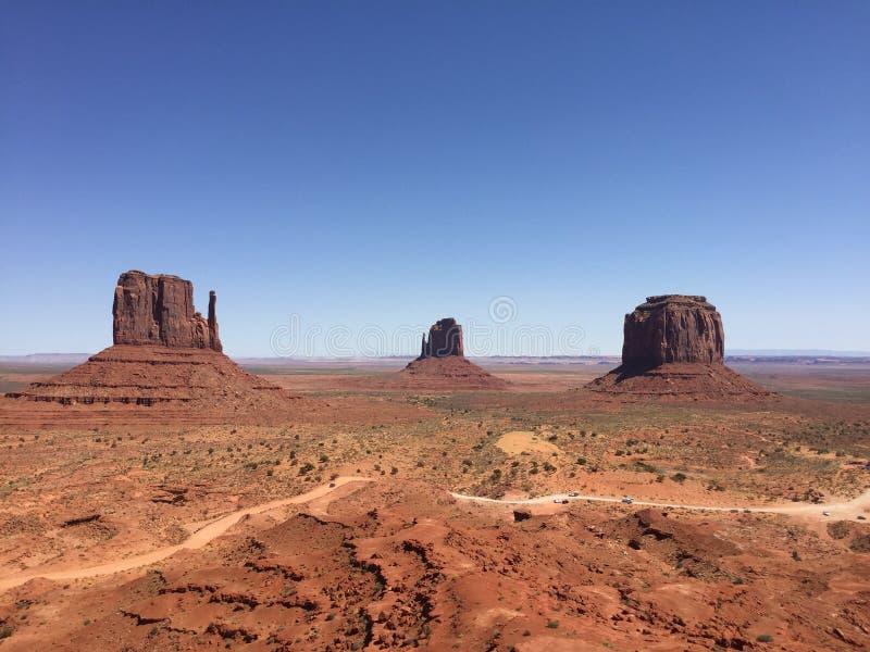 Monumentdal - Navajo parkera - USA - Arizona royaltyfria foton