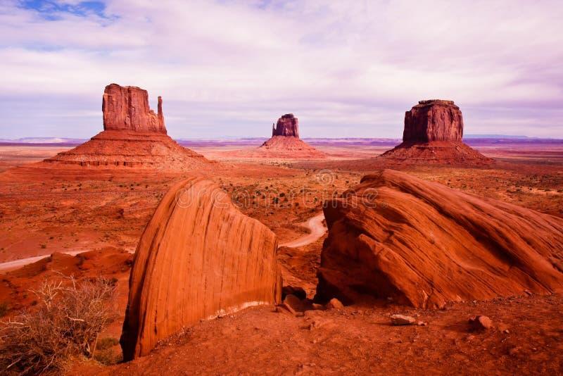 monumentdalsikt fotografering för bildbyråer
