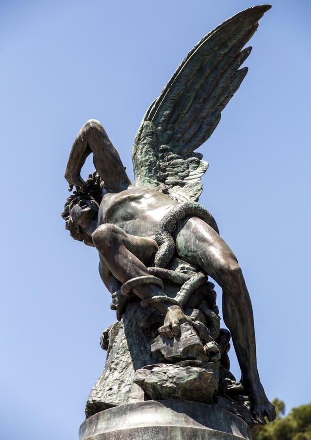 Monumente von Madrid Besichtigung von Spanien Reise um Europa lizenzfreies stockbild
