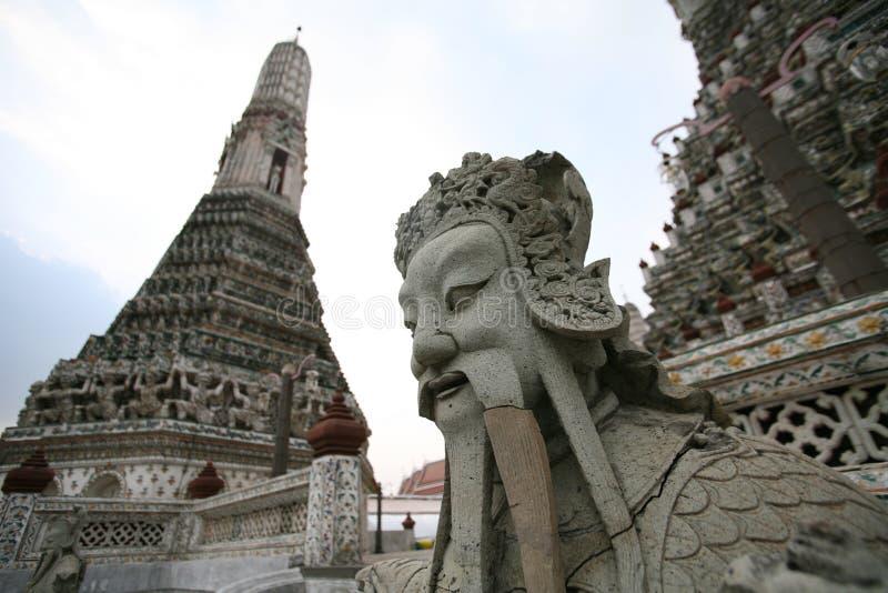 Monumenten in Royal Palace in Bangkok, Thailand royalty-vrije stock foto