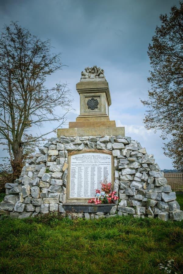 Monumentenslag van Tovacov stock afbeeldingen