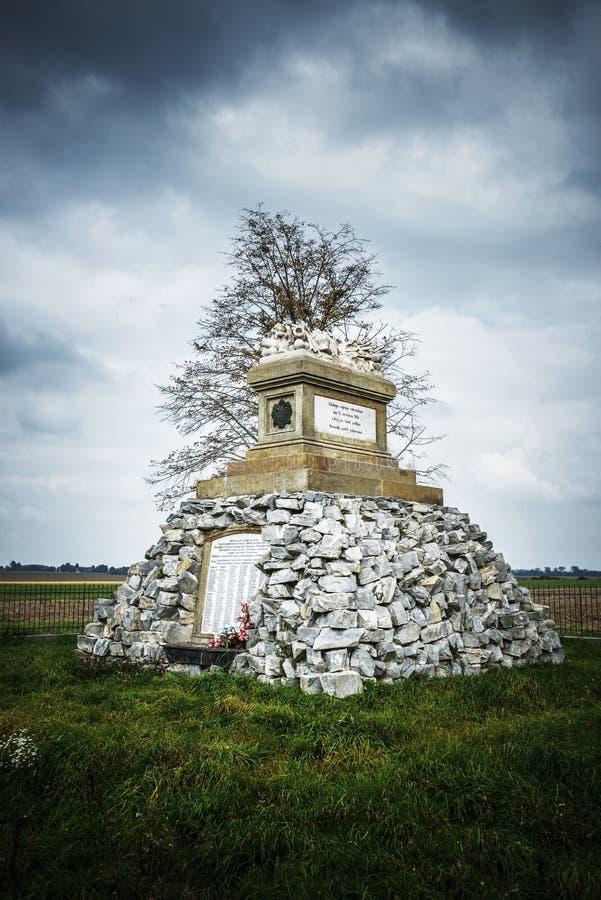 Monumentenslag van Tovacov royalty-vrije stock afbeeldingen