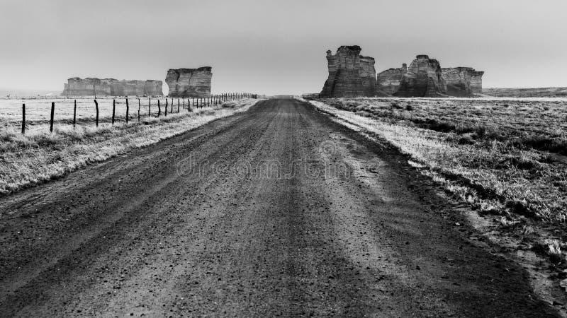Monumentenweg stock afbeelding