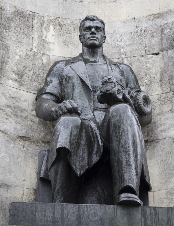 Monumentet i kyrkafyrkanten, vladimir, ryssfederation arkivfoton