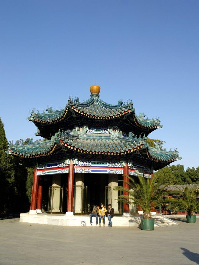 Monumentet i Zhongshan parkerar royaltyfria foton