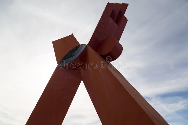 Monumentet till Mexicanness, kallade gemensamt xet arkivfoto